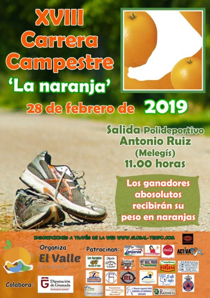 XVIII Carrera Campestre La Naranja - Granada - 2019
