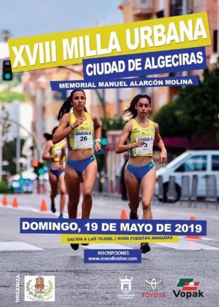 XVIII Milla Urbana Ciudad de Algeciras - Cádiz - 2019