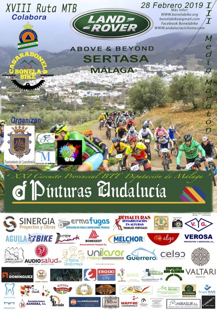 XVIII PRUEBA BTT CASARABONELA - Malaga - 2019