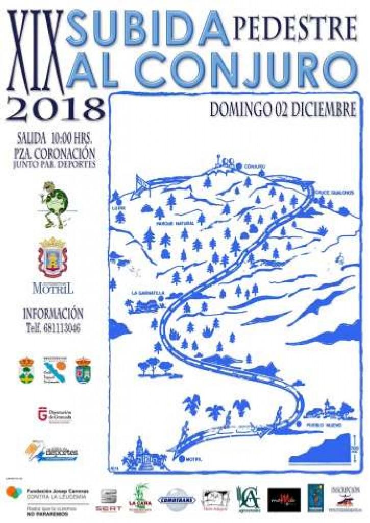 XVIV SUBIDA PEDESTRE AL CONJURO - Granada - 2018