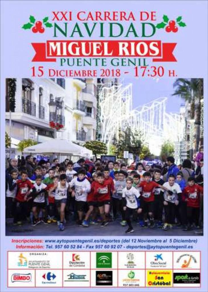 XX CARRERA DE NAVIDAD MIGUEL RIOS - Cordoba - 2018