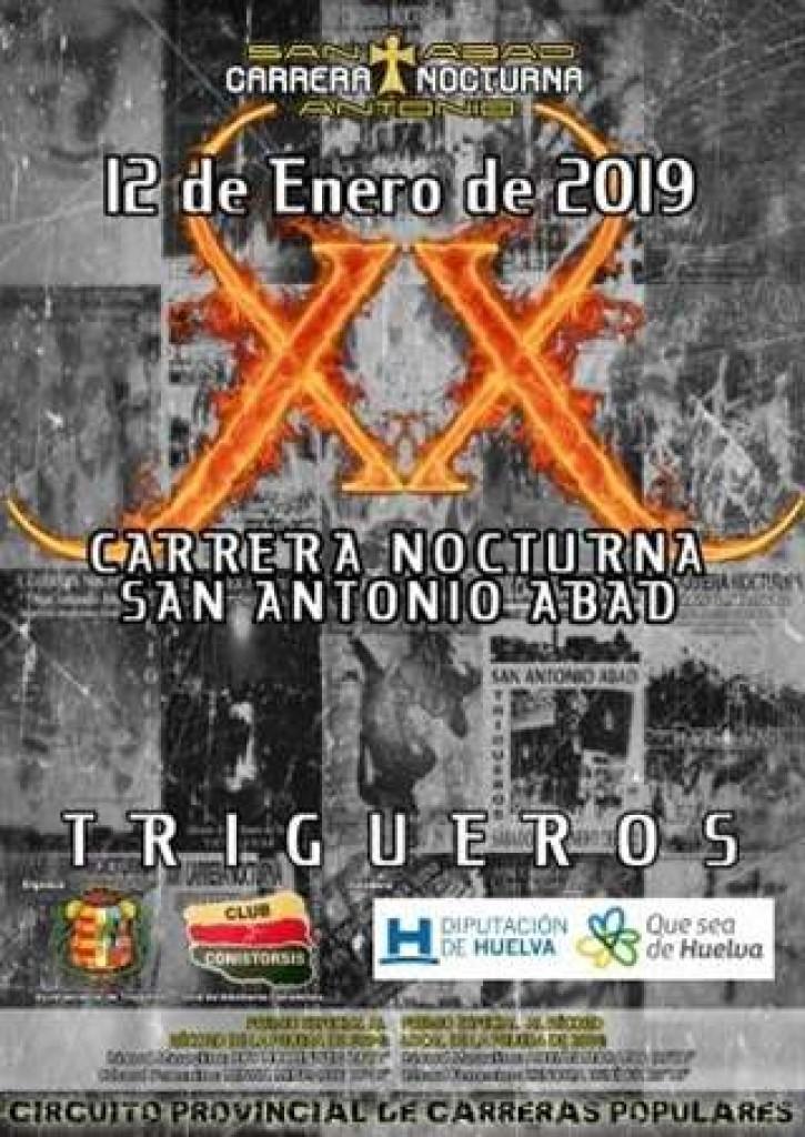 XX CARRERA NOCTURNA SAN ANTONIO DE ABAD - Huelva - 2019