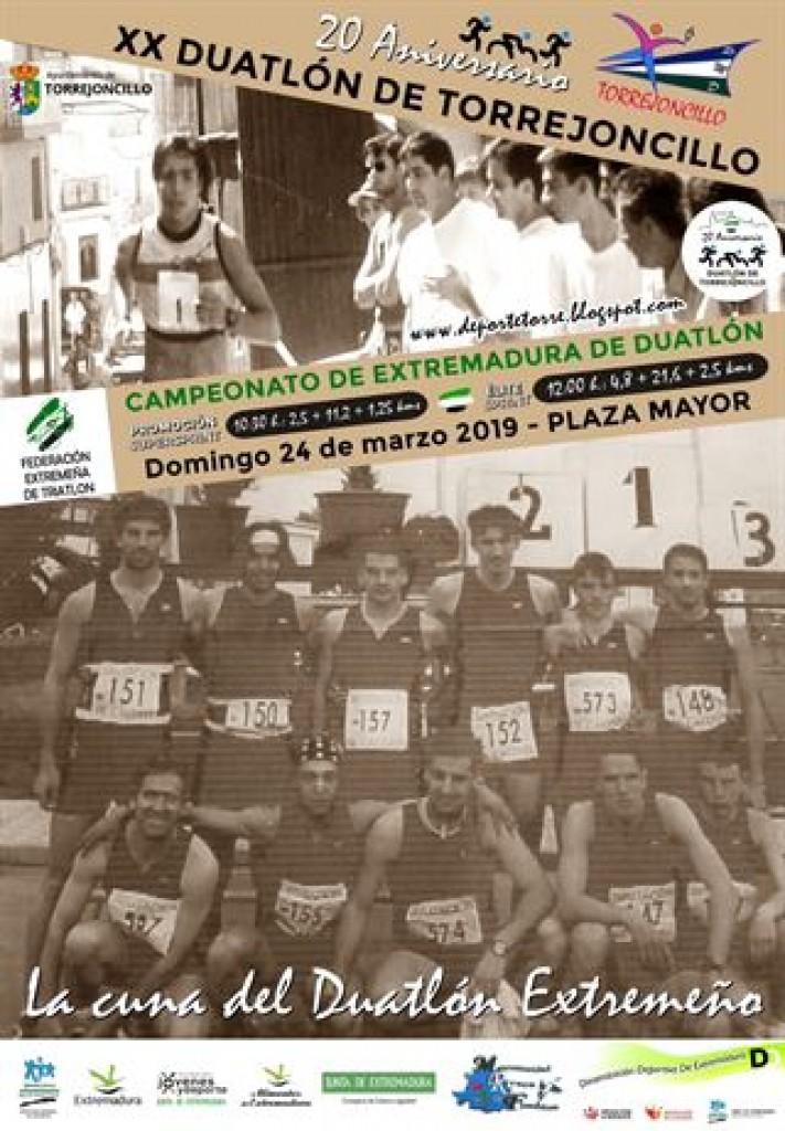XX Duatlon de Torrejoncillo - Cáceres - 2019
