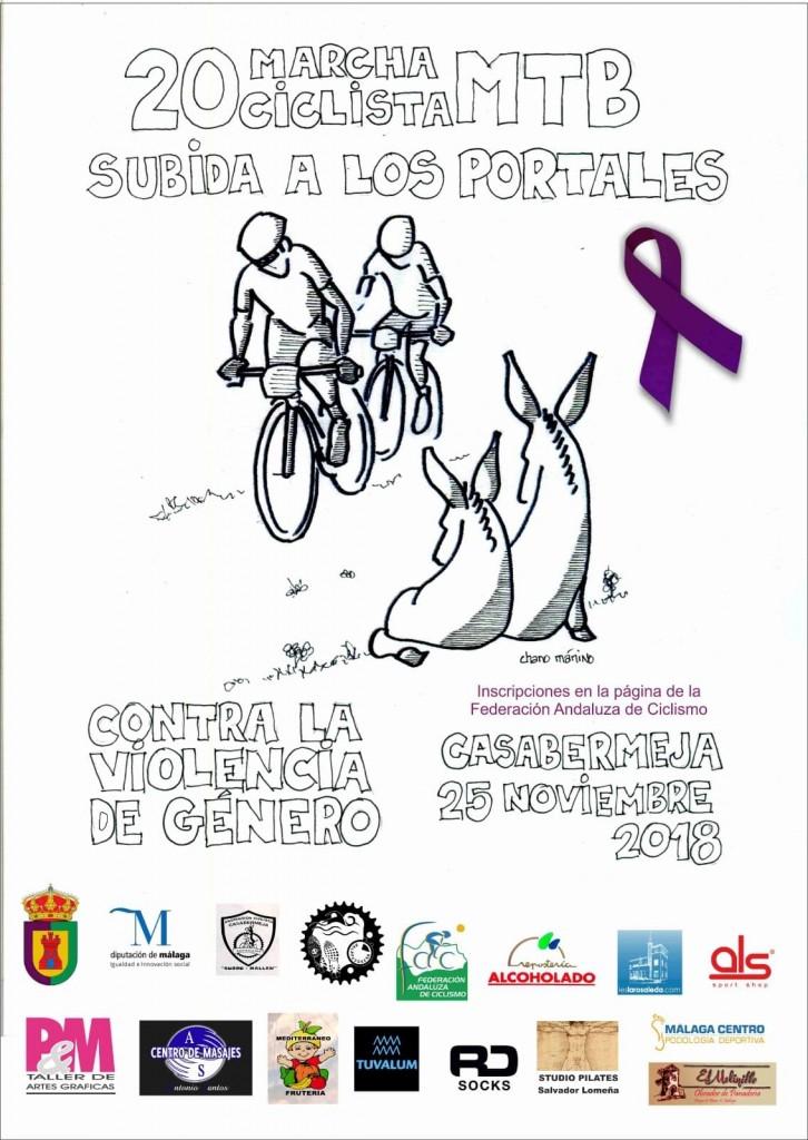 XX MARCHA CICLISTA MTB SUBIDA A LOS PORTALES -Malaga - 2018