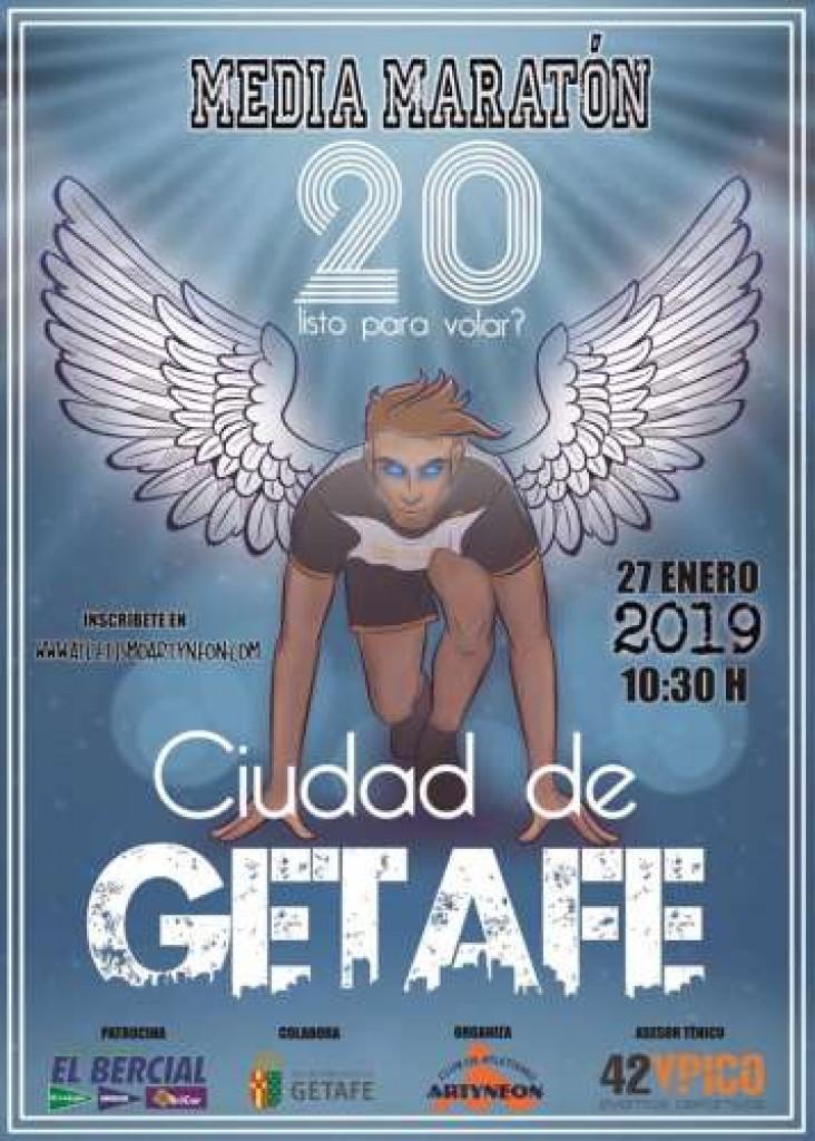 XX MEDIA MARATON CIUDAD DE GETAFE - Madrid - 2019