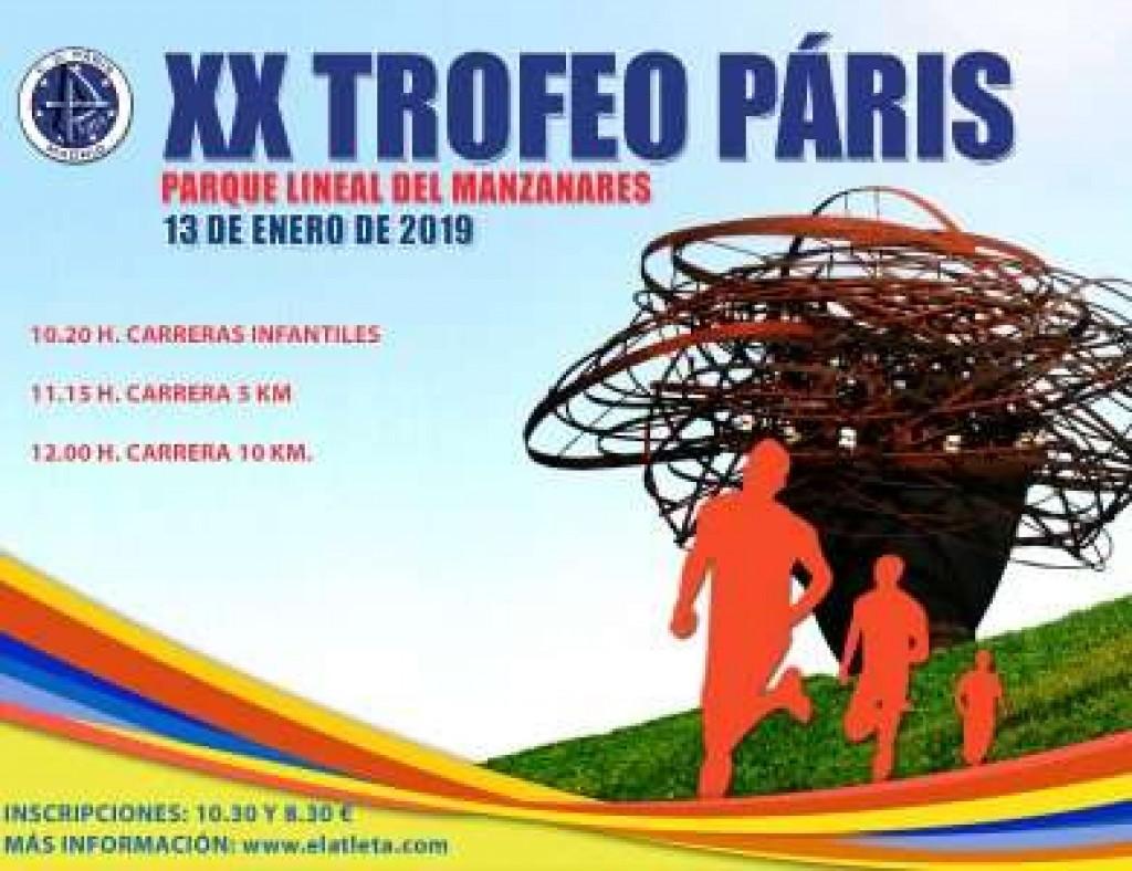 XX Trofeo Páris - Madrid - 2019