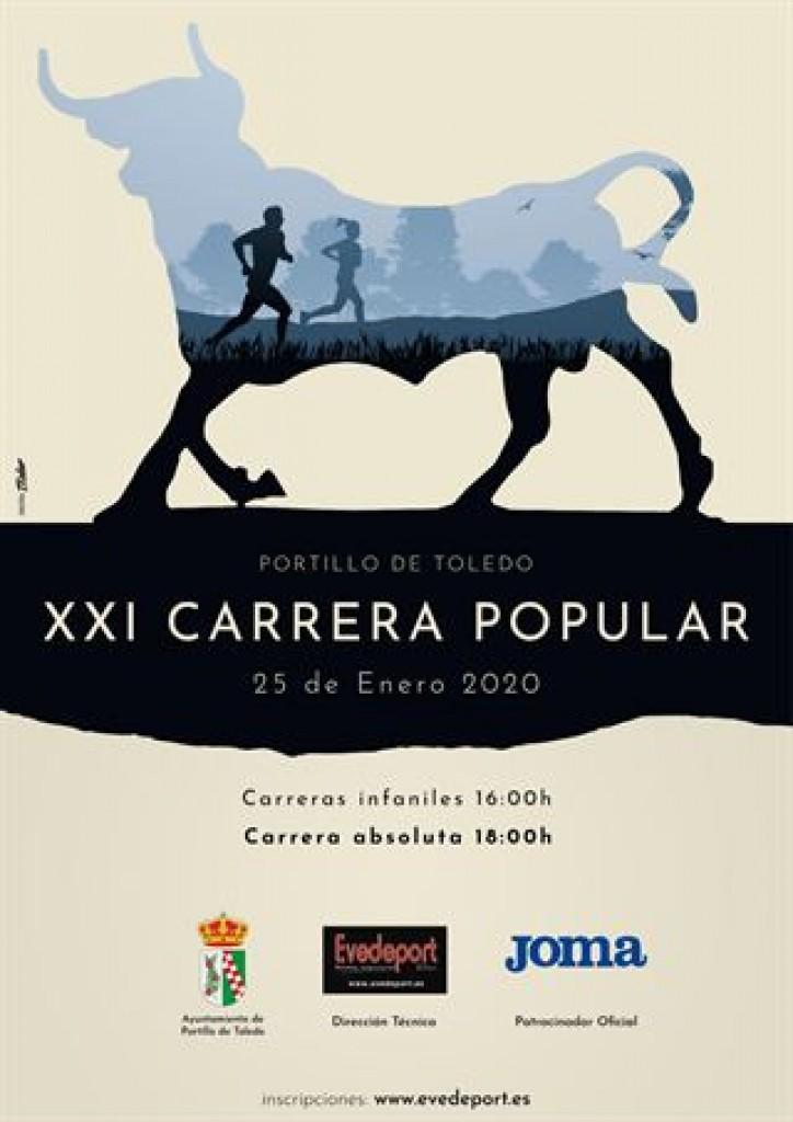 XXI CARRERA POPULAR URBANA PORTILLO DE TOLEDO - 2020