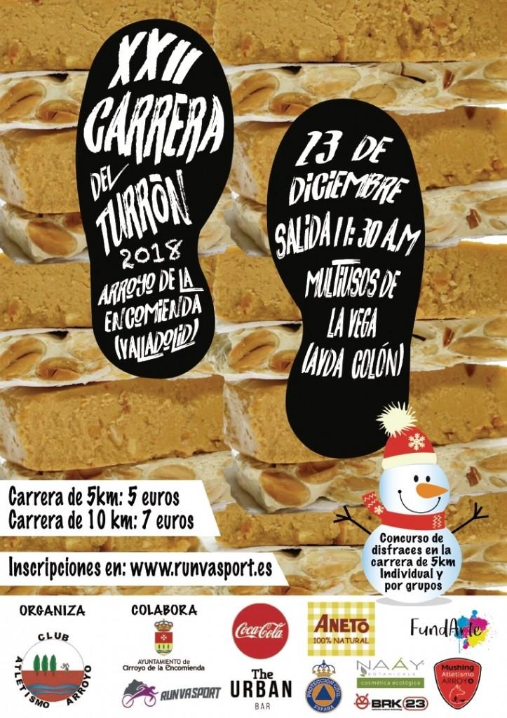 XXII Carrera del Turrón- Arroyo de la Encomienda - Valladolid - 2018