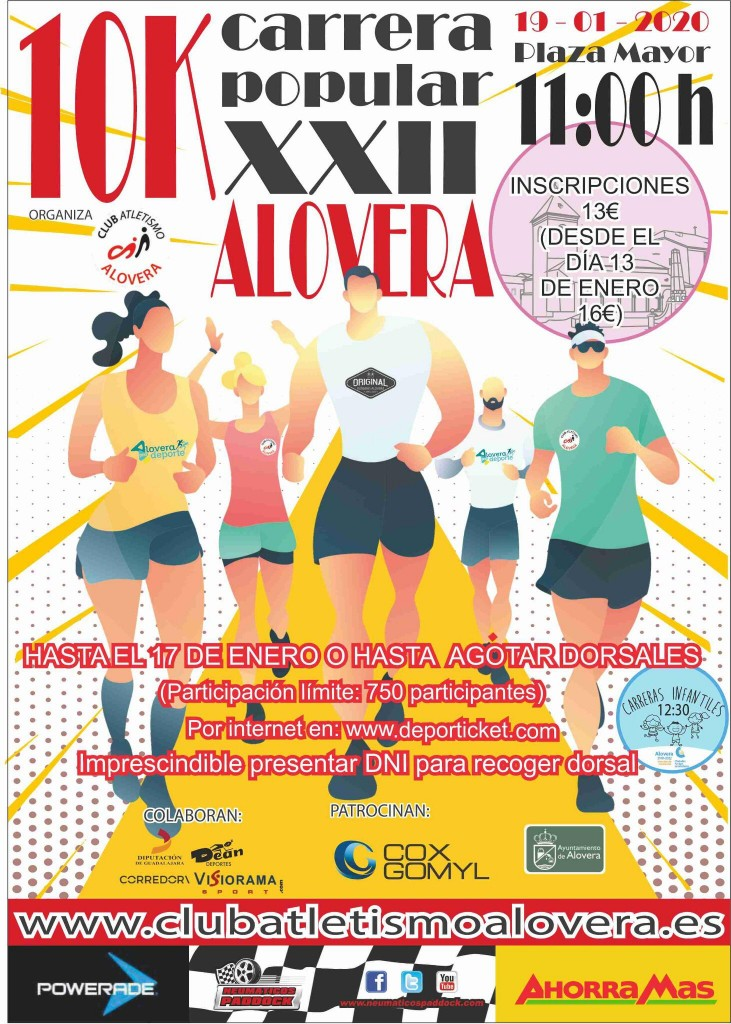 XXII Carrera Popular de Alovera