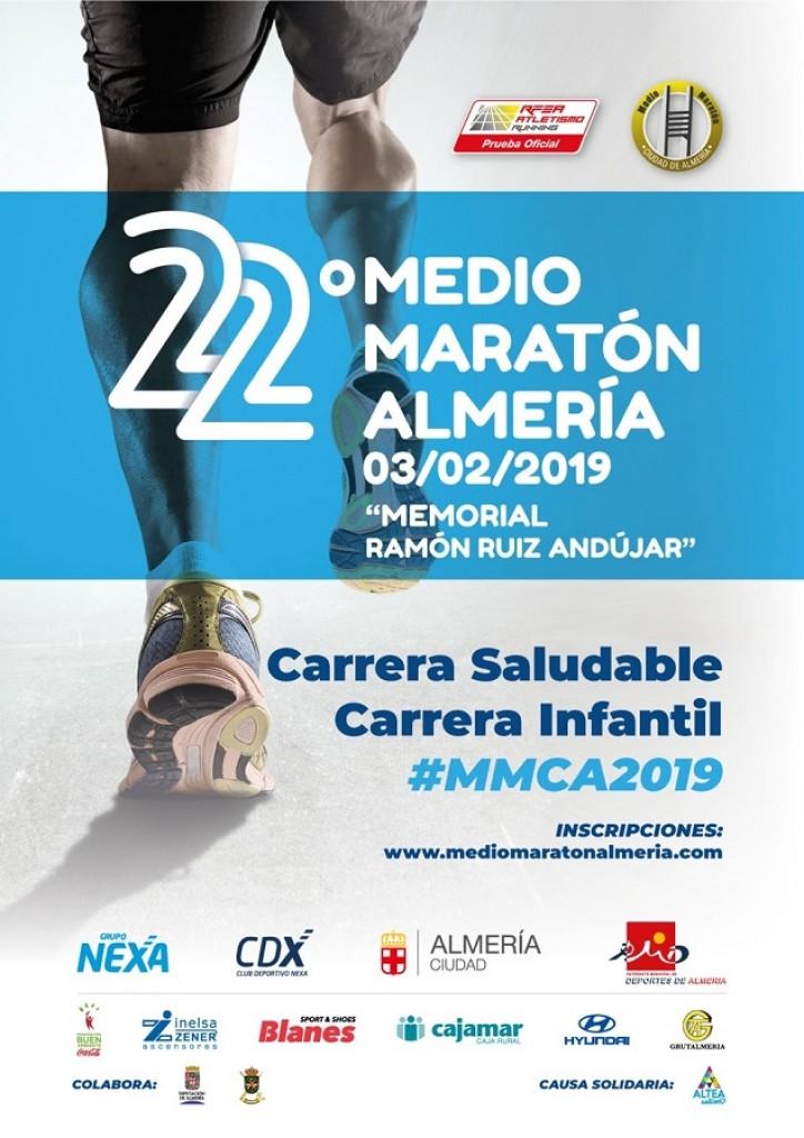 XXII Medio Maratón Ciudad de Almería - 2019