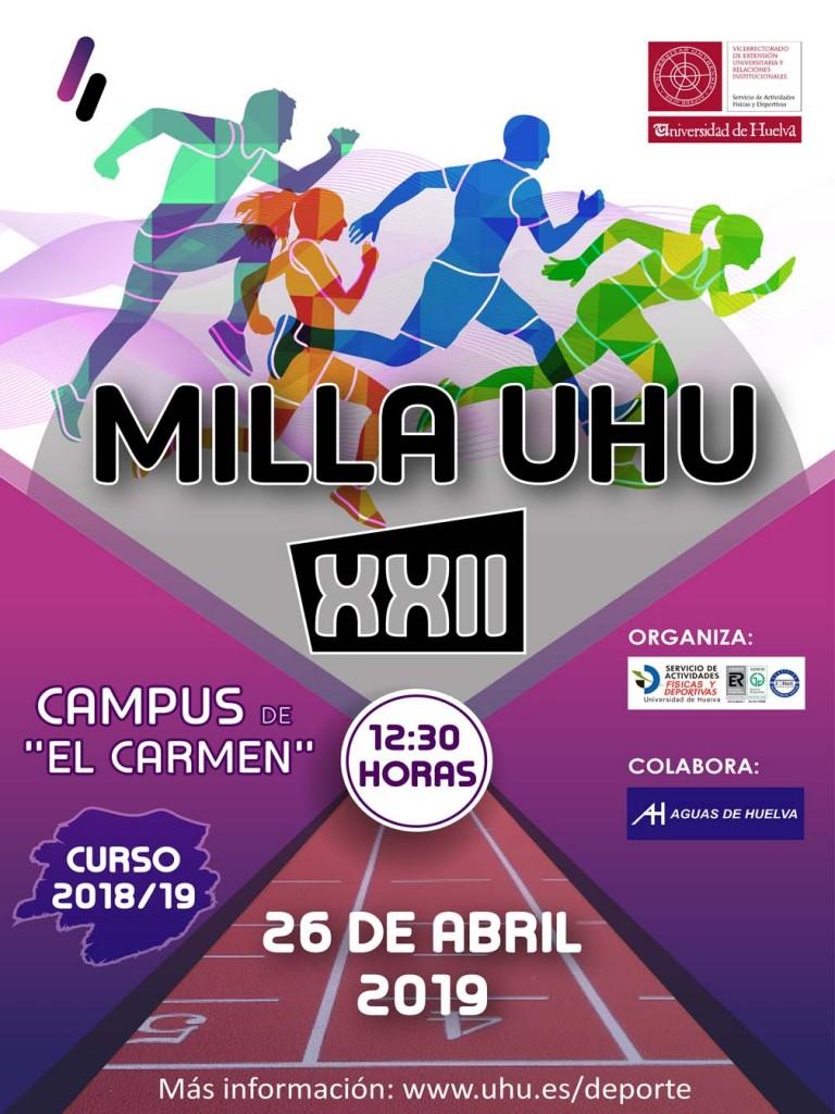 XXII Milla UHU - Huelva - 2019