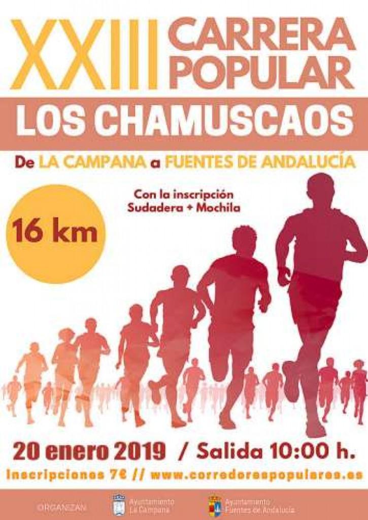 XXIII CARRERA POPULAR LOS CHAMUSCAOS - Sevilla - 2019