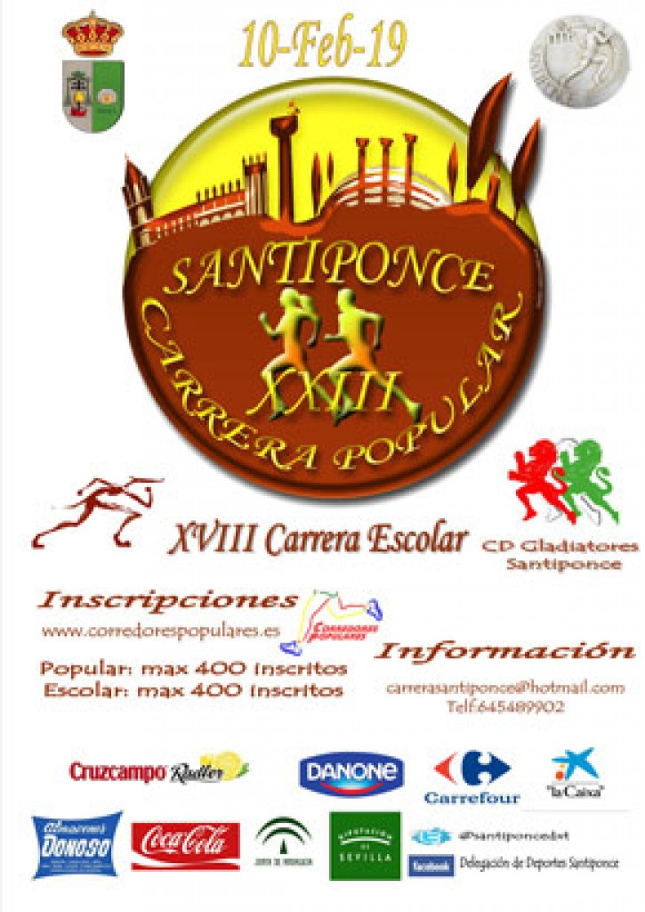 XXIII Carrera Popular Santiponce - Sevilla - 2019