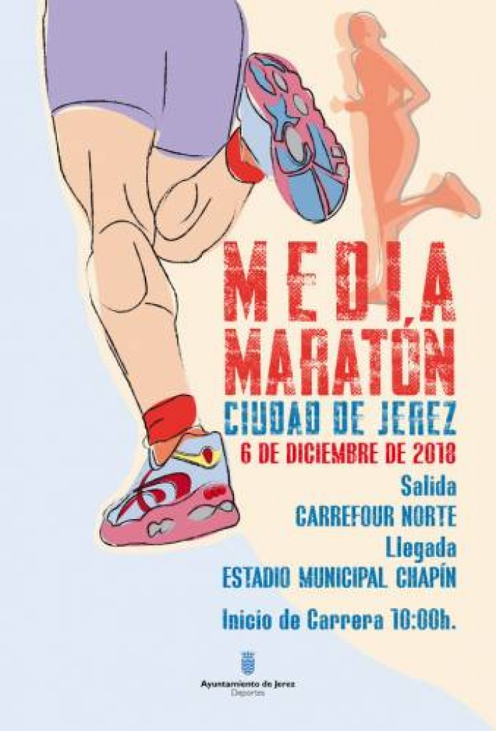 XXIII MEDIA MARATON CIUDAD DE JEREZ - Cadiz - 2018