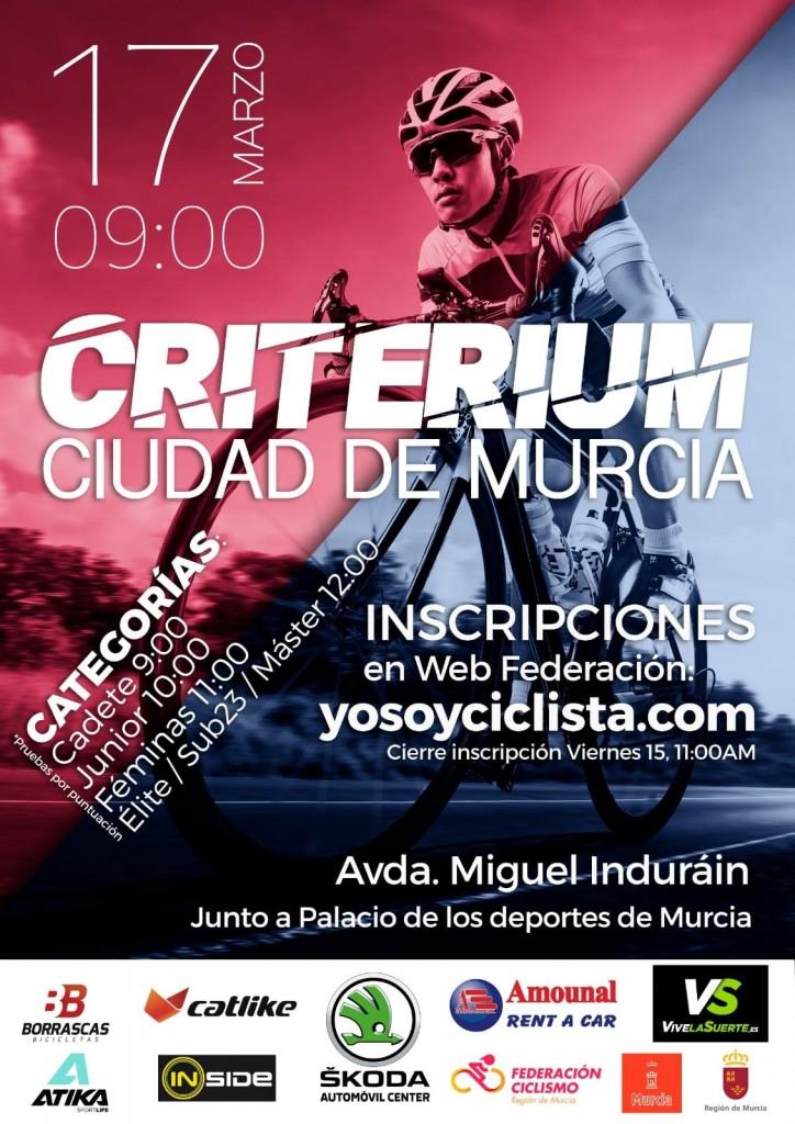 XXIV CRITERIUM CIUDAD DE MURCIA - 2019