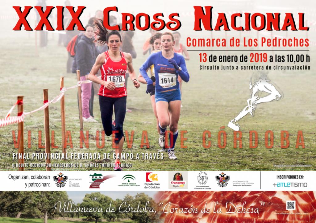 XXIX Cross Nacional Comarca de los Pedroches - Córdoba - 2019