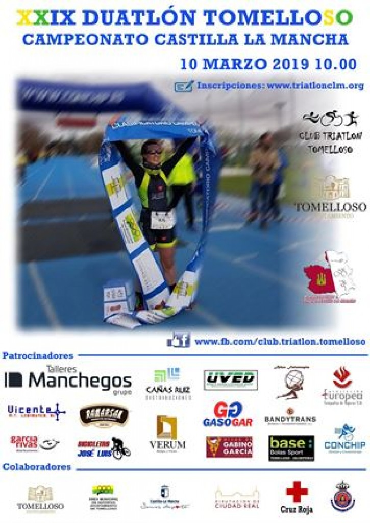XXIX DUATLON TOMELLOSO 2019- CAMPEONATO REGIONAL - Ciudad Real
