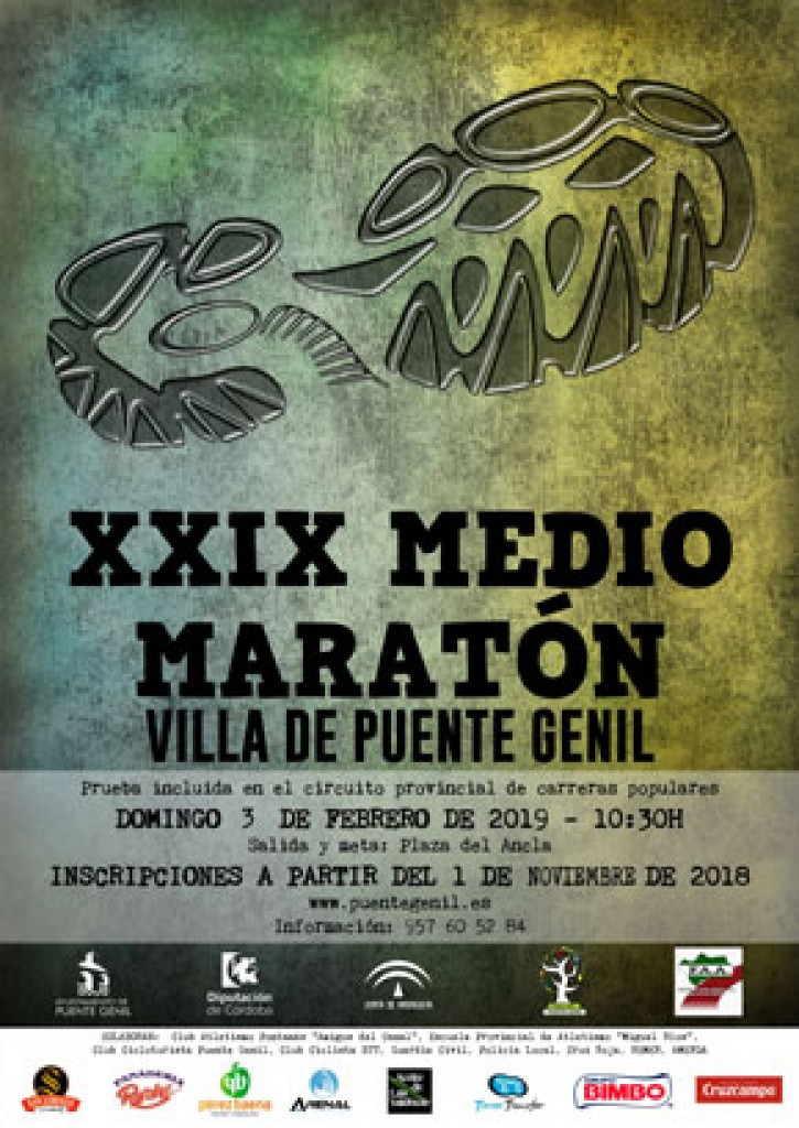 XXIX Medio Maratón Villa de Puente Genil - Cordoba - 2019