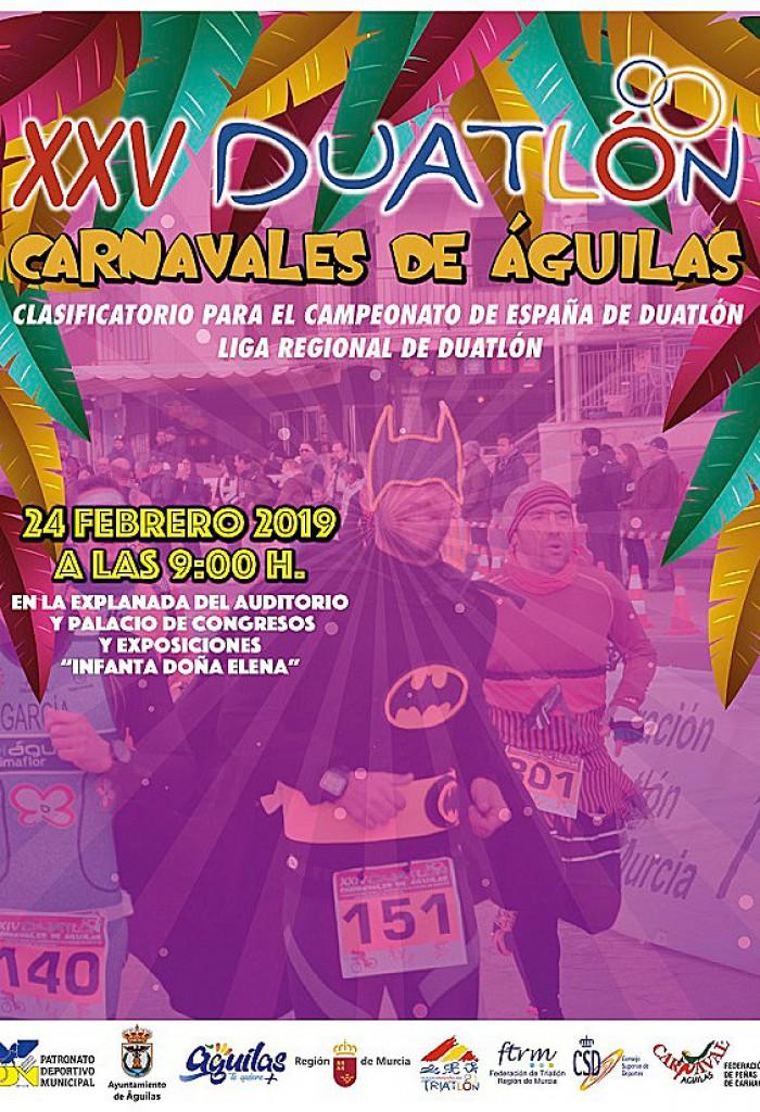 XXV DUATLÓN CARNAVALES DE ÁGUILAS - Murcia - 2019