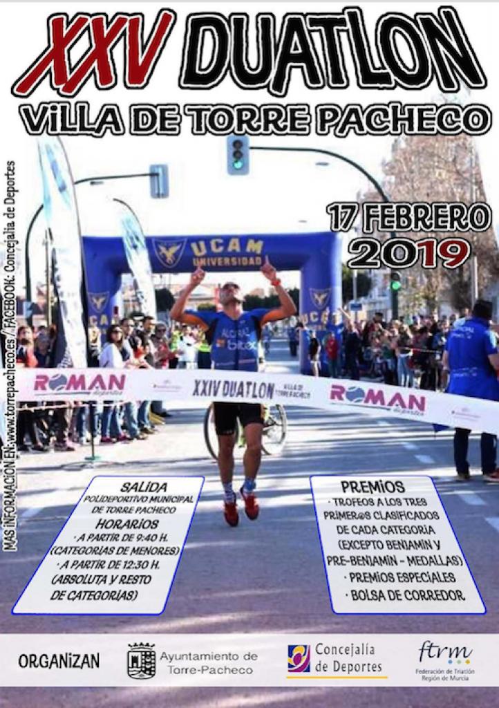 XXV DUATLÓN DE TORRE-PACHECO - Murcia - 2019