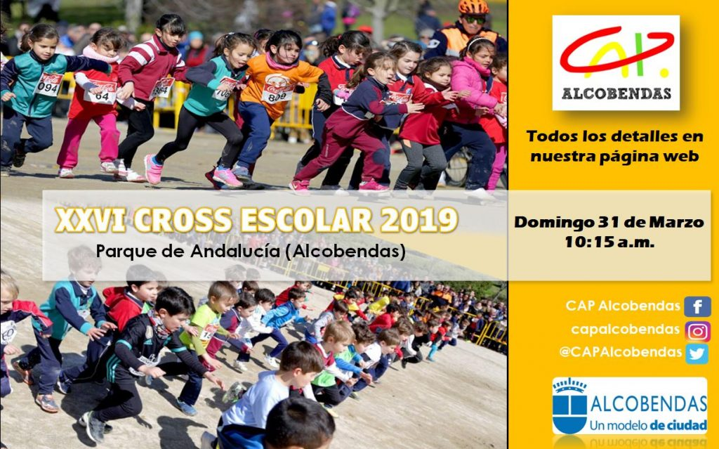 XXVI Cross Escolar - Alcobendas Madrid 2019