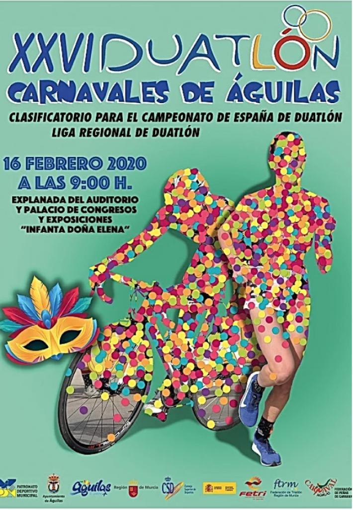 XXVI Duatlon Carnavales de Águilas - Murcia - 2020