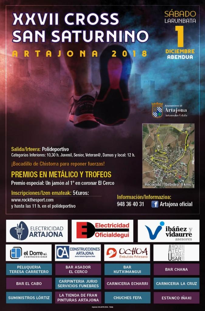 XXVII CORSS SAN SATURNINO ARTAJONA 2018 - Navarra