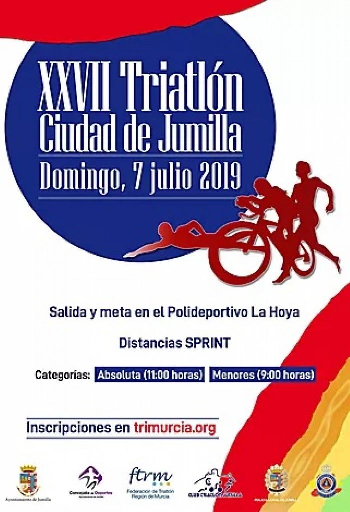XXVII TRIATLÓN CIUDAD DE JUMILLA - Murcia - 2019