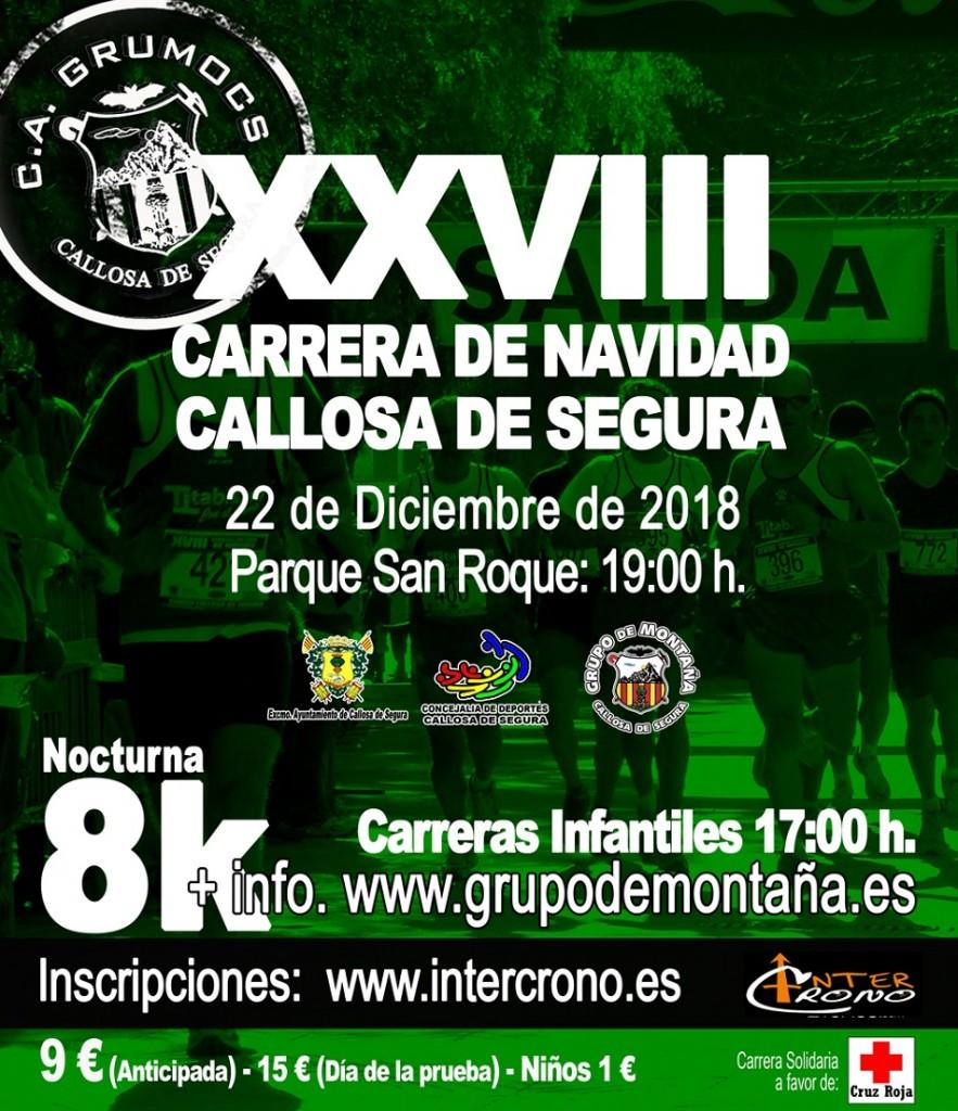 XXVIII CARRERA DE NAVIDAD CALLOSA DE SEGURA - Alicante - 2018