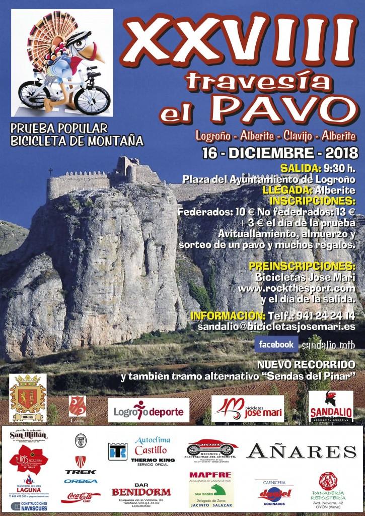 XXVIII TRAVESIA DEL PAVO - La Rioja - 2018