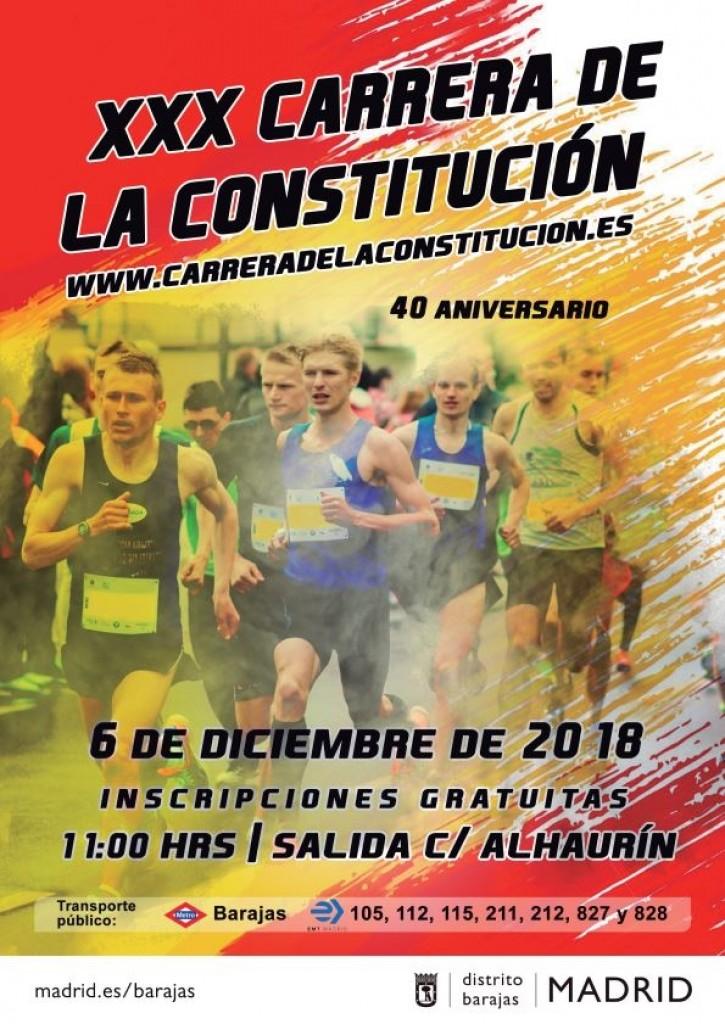 XXX CARRERA DE LA CONSTITUCION - Madrid - 2018