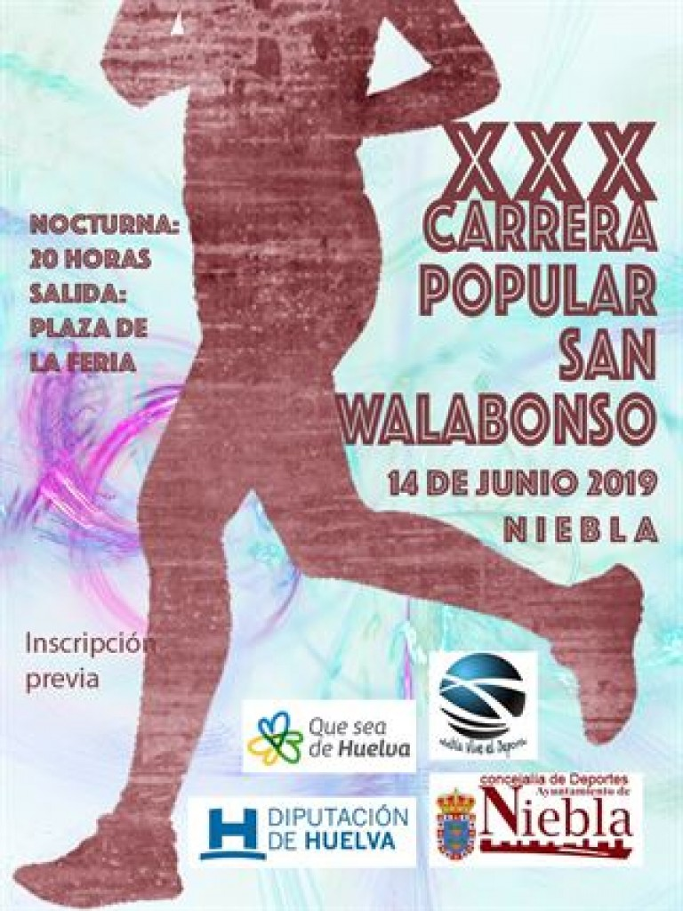 XXX CARRERA POPULAR SAN WALABONSO 2019 - Huelva