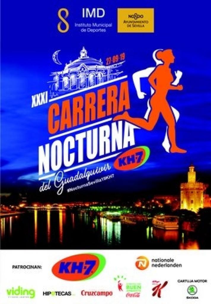 XXXI Carrera Nocturna del Guadalquivir - Sevilla - 2019