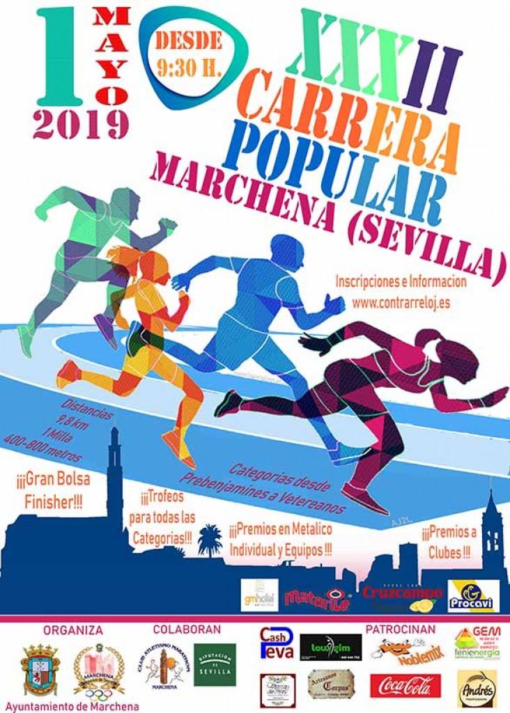 XXXI Carrera Popular Marchena - Sevilla - 2019