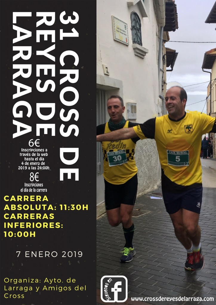 XXXI CROSS DE REYES DE LARRAGA - Navarra - 2019
