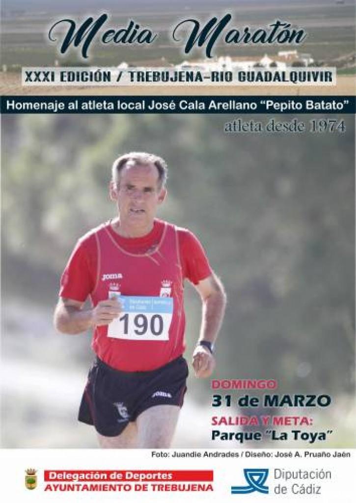 XXXI Media Maratón Trebujena Río Guadalquivir - Cádiz - 2019
