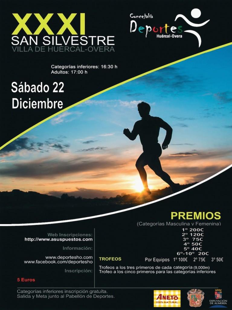 XXXI SAN SILVESTRE VILLA DE HUERCAL-OVERA - Almeria - 2018