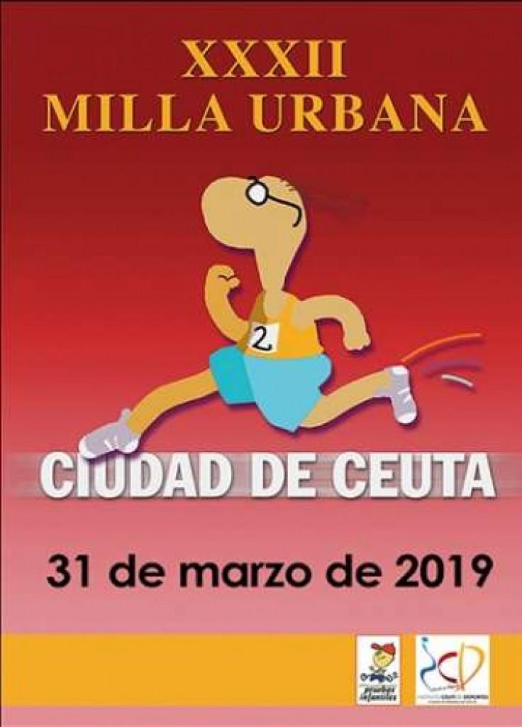 XXXII Milla Urbana Ciudad de Ceuta - 2019