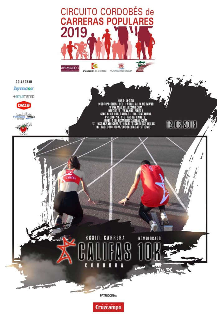 XXXIII Carrera Popular Califas - Córdoba - 2019
