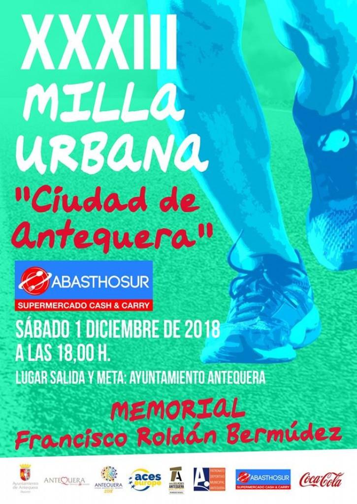 XXXIII MILLA URBANA CIUDAD DE ANTEQUERA - Malaga - 2018
