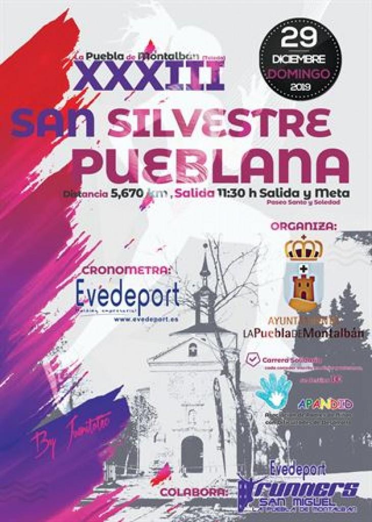 XXXIII SAN SILVESTRE DE LA PUEBLA DE MONTALBAN - Toledo - 2019