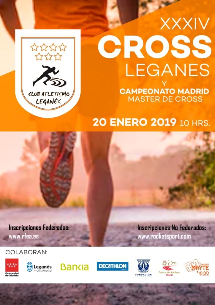 XXXIV Cross de Leganés 2019 - Madrid