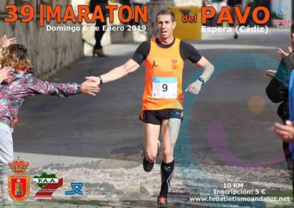 XXXIX MARATON DEL PAVO DE ESPERA - Cadiz - 2019