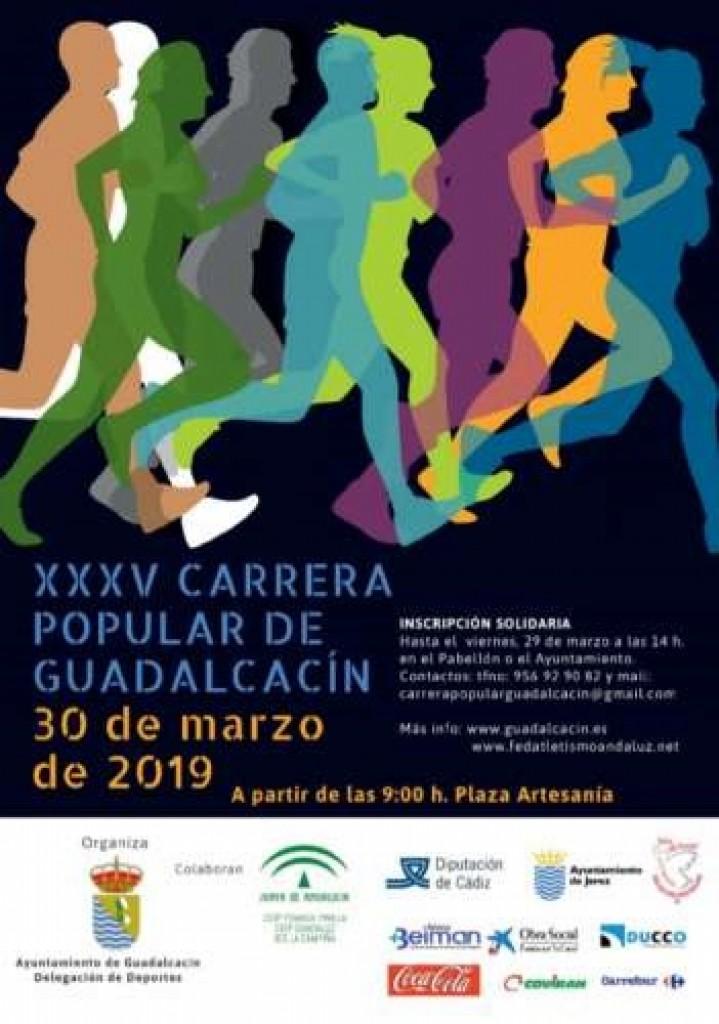 XXXV Carrera Popular de Guadalcacín - Cádiz - 2019