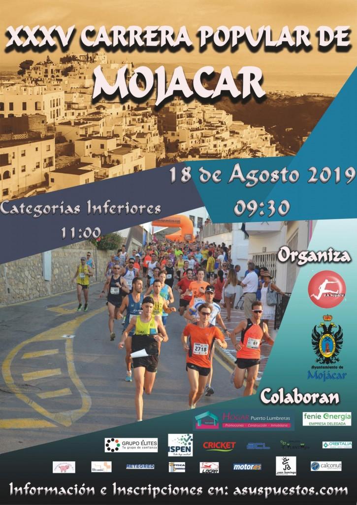 XXXV CARRERA POPULAR MOJÁCAR 2019 - Almería