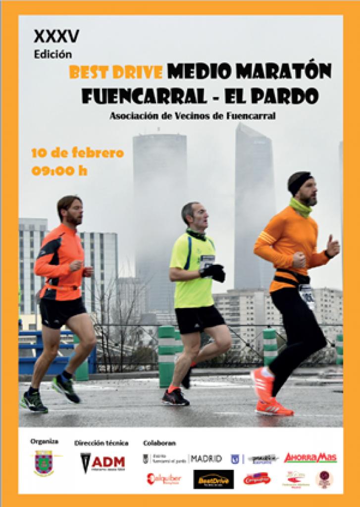 XXXV Media Maratón Fuencarral - El Pardo - Madrid - 2019