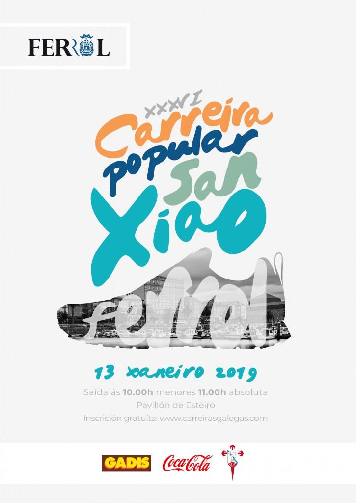 XXXVI CARREIRA POPULAR SAN XIAO - A Coruña - 2019