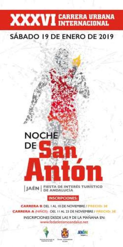 XXXVI CARRERA URBANA INTERNACIONAL NOCHE DE SAN ANTON - Jaen - 2019