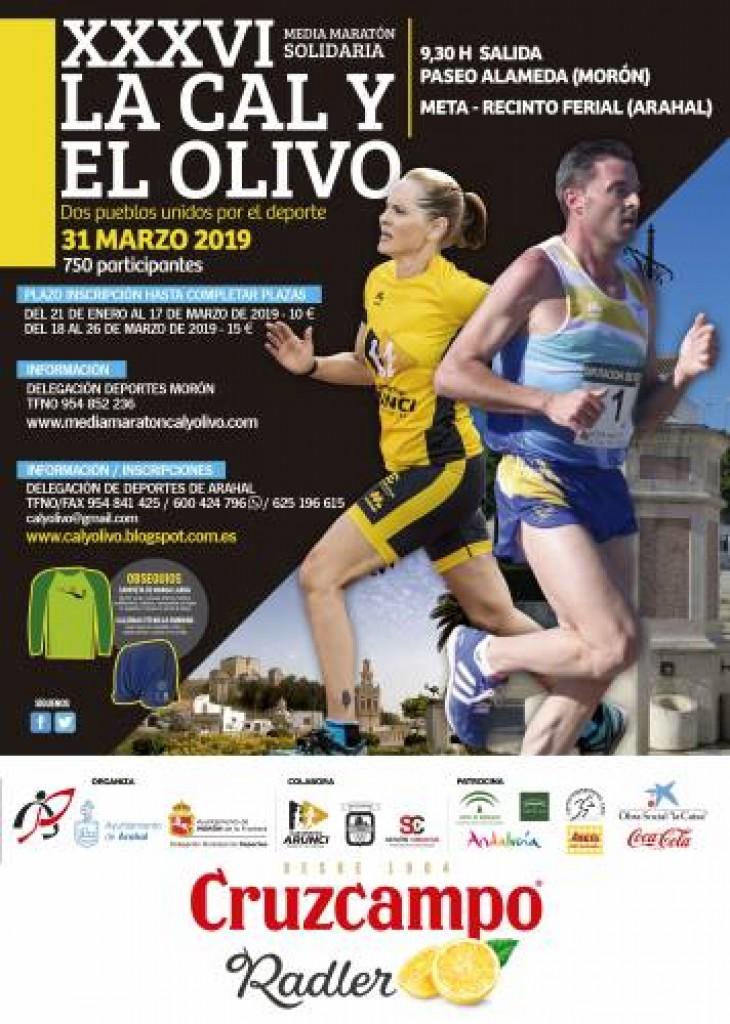 XXXVI Media Maratón la Cal y el Olivo - Sevilla - 2019