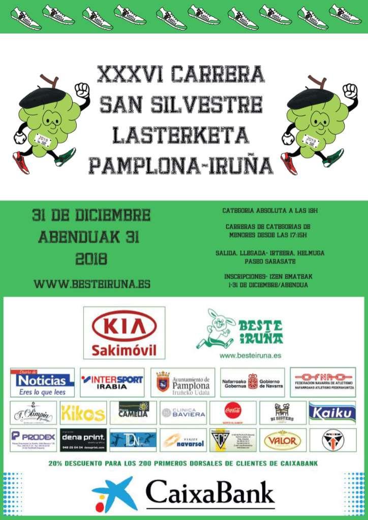 XXXVI SAN SILVESTRE IRUÑA PAMPLONA - Navarra - 2018